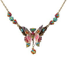 Michal Negrin Classic Butterfly Necklace
