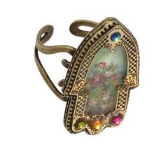 Hamsa Ring By Michal Negrin Classic
