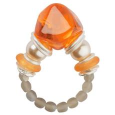 Orna Lalo Orange Joy Ring