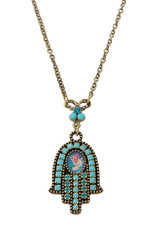 Michal Negrin Hamsa Necklace