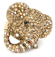A Beautiful Elephant Ring Gold Rings From Andrew Hamilton Crawford Jewelry