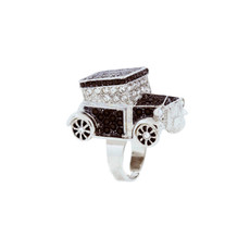 Andrew Hamilton Crawford Jewelry Town Car Ring Ring