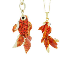 Andrew Hamilton Crawford Goldfish Necklace Necklace