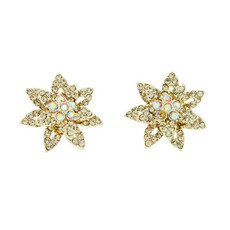 Special Fireflower Earrings Gold Earrings From Andrew Hamilton Crawford Jewelry