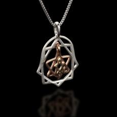 Haari Kabbalah Jewelry Hamsa Pendant