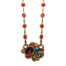 Michal Golan Confetti Small With Chain Necklace