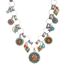 A Special Coral Sea Necklace From Michal Golan Jewelry - N3117