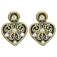 Lovely Deco Earrings By Michal Golan Jewelry