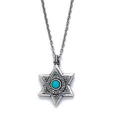 Michal Golan Silver Star Of David