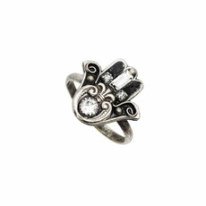 Michal Golan Adjustable Ring Hamsa