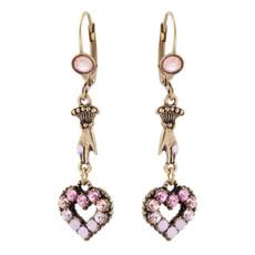 Michal Negrin Heart Earrings