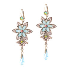Michal Negrin Pastel Hook Earrings
