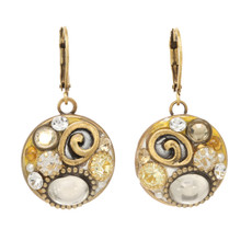 Medium Round earrings from Michal Golan Jewelry
