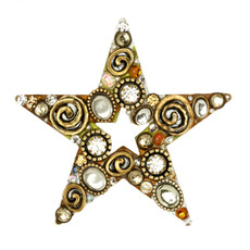 Michal Golan Earth Star Pins