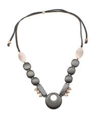 Black Safia Classic necklace from Encanto Jewelry