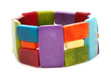 Link Rainbow Bracelet from Encanto Jewelry