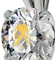 Nano Jewelry Silver Aquarius Necklace