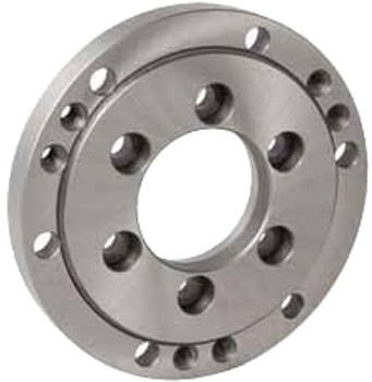 "Bison Finished A-5 Adapter Back Plate 7-873-0850 for 8"" Diameter Plain Back Self Centering & Independent Chucks"