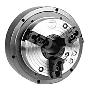 "Pratt Burnerd 10"" 3 Jaw Open Center Self-Contained Air Power Chuck A2-6 Mount MK3 9761-42610"