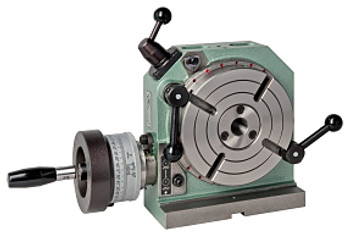 "Bison 6-1/4"" Horizontal & Vertical Low Profile Rotary Table 7-621-006"