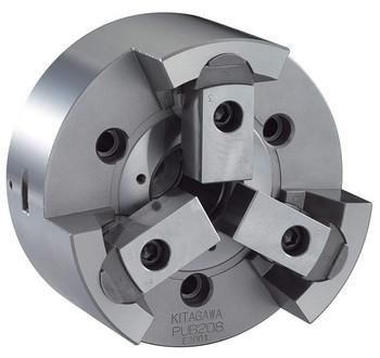 "Kitagawa 8"" 3 Jaw Pull Lock Power Chuck Plain Back PU-208"