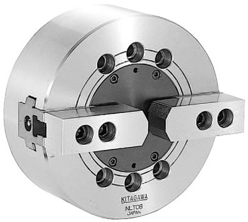 Kitagawa 10 2 Jaw Closed Center Power Chuck Plain Back NLT-10