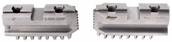 "TMX Hard Master Jaws for 10"" Scroll Chuck, 2 Piece Set, 3-885-210P"