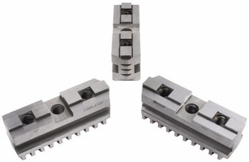 "TMX Hard Master Jaws for 12"" Scroll Chuck, 3 Piece Set, 3-885-312P"