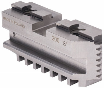 TMX Hard Master Jaws for 10 Scroll Chuck, 4 Piece Set, 3-885-410P