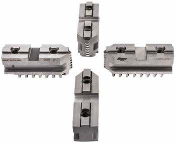 "TMX Hard Master Jaws for 12"" Scroll Chuck, 4 Piece Set, 3-885-412P"