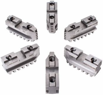 "TMX Hard Master Jaws for 10"" Scroll Chuck, 6 Piece Set, 3-885-610P"