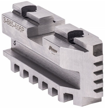 TMX Hard Master Jaws for 10 Scroll Chuck, 6 Piece Set, 3-885-610P
