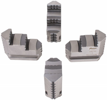 TMX Hard Master Jaws for 10 4 Jaw Independent Chucks, 4pc, Reversible, 3-890-110P