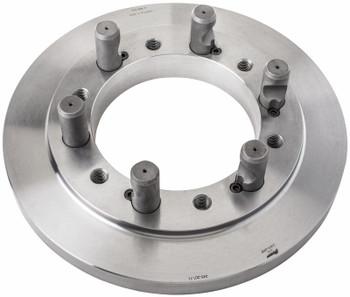 TMX Set Tru D1-8 Adapter Back Plate 3-875-168P for 16 Diameter Chuck