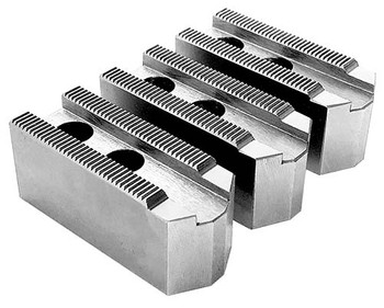 1.5mm x 60° Soft Top Jaws for 6 Power Chuck, Pointed, Aluminum, PK3, KT 6200AP
