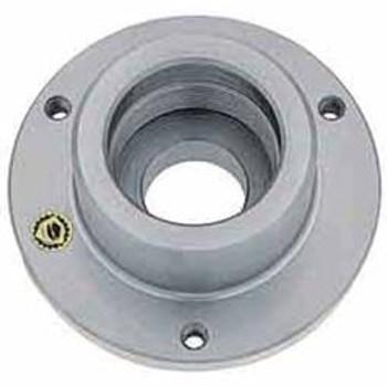 "Bison Set Tru 1-1/2 - 8 Threaded Adapter Back Plate 7-876-052 for 5"" Diameter Chuck"