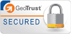 SSL Encrypted GeoTrust Badge