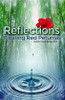 Reflections: Floating Red Petunias