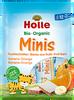 Holle Organic (Bio) Minis: Banana and Orange Fruit Bars (8 x 12.5g)