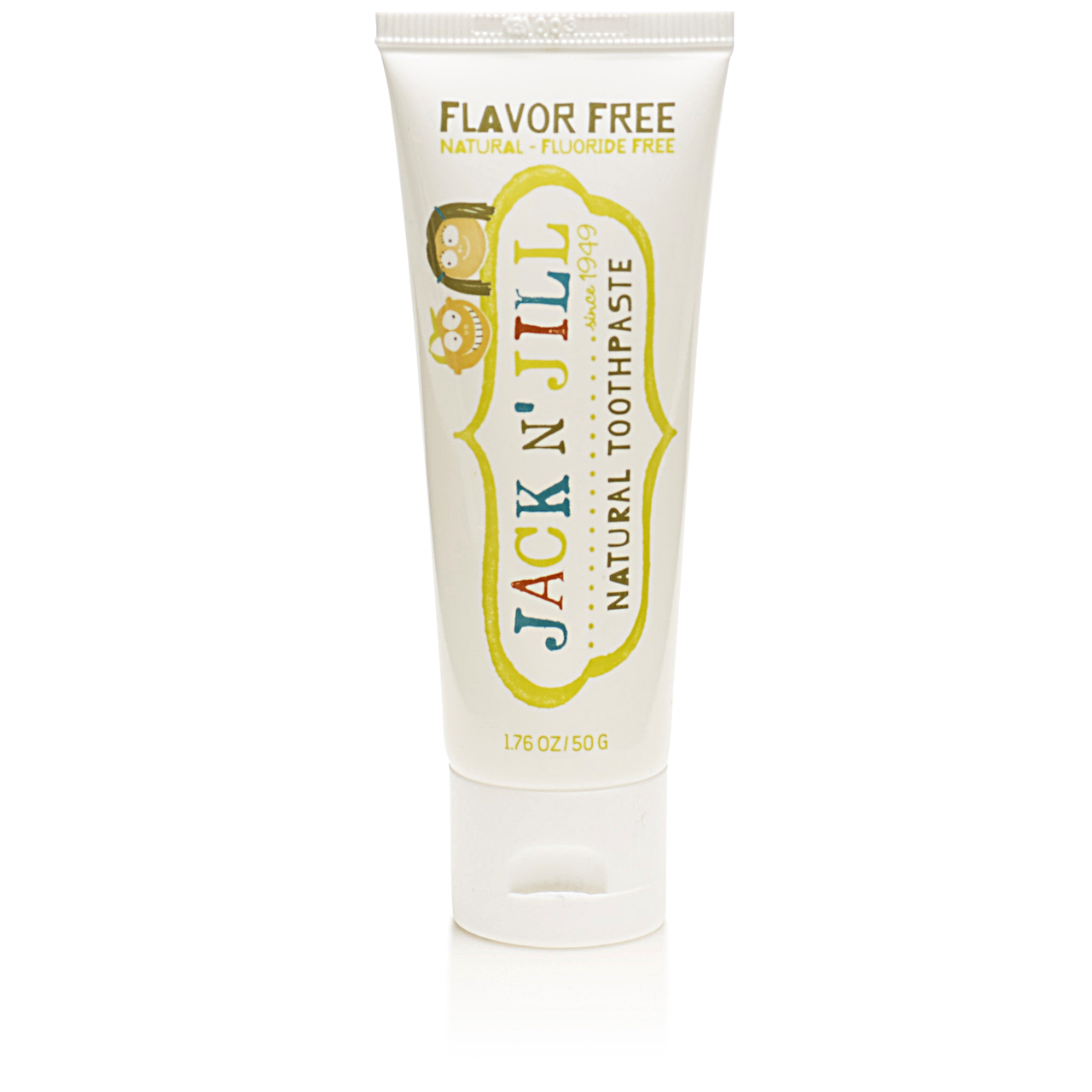 Jack N Jill Natural Toothpaste Flavor Free Organic Start Silicone Tooth Brush