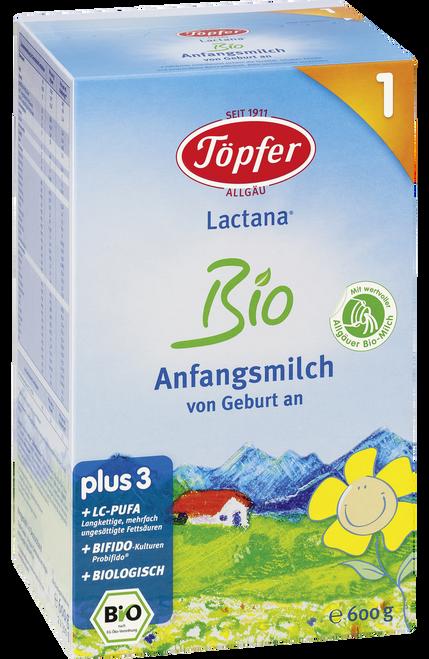 Topfer Stage 1 Lactana Organic (Bio) Infant Milk Formula (600g)