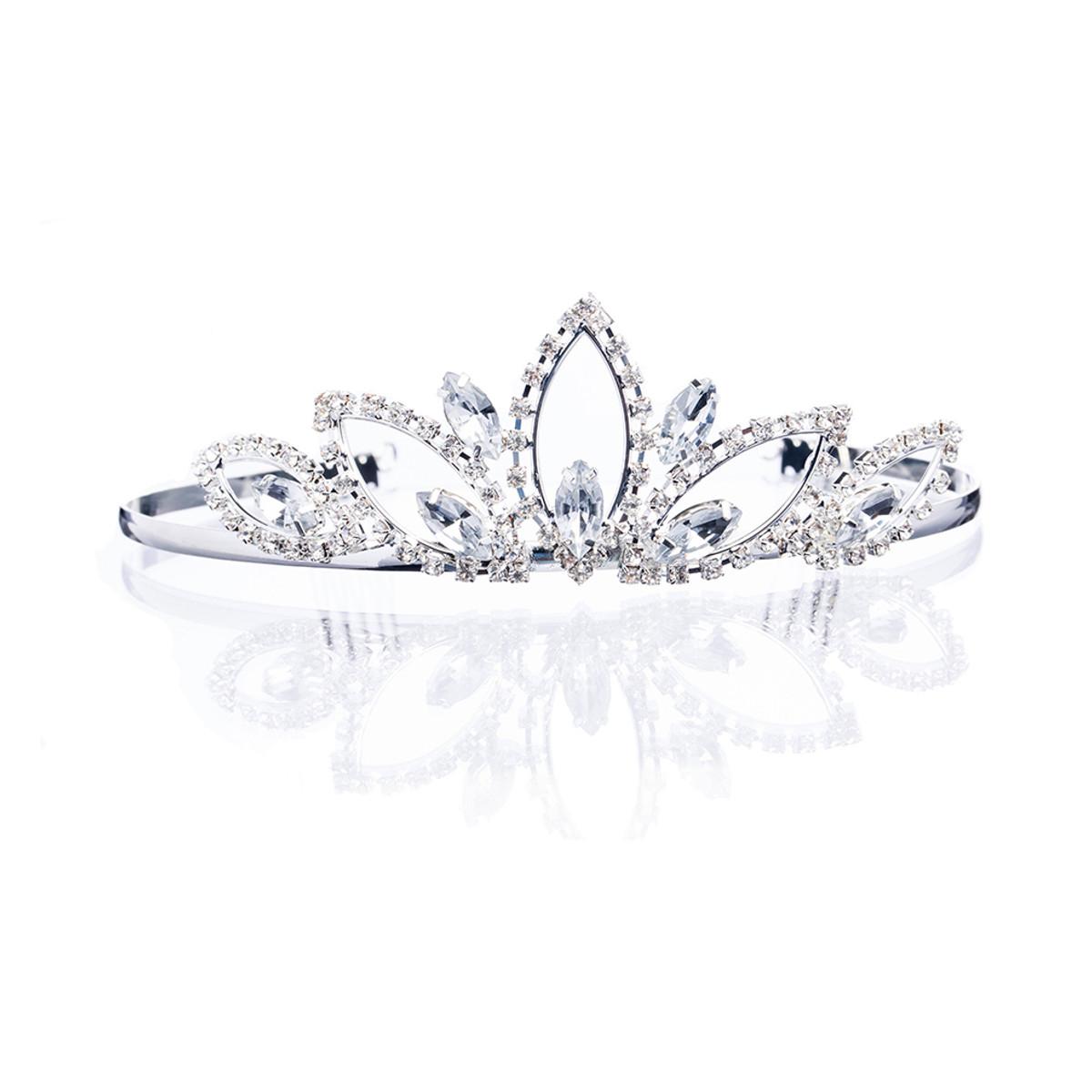 Accessoriesforever Bridal Wedding Jewelry Crystal Rhinestone Wide