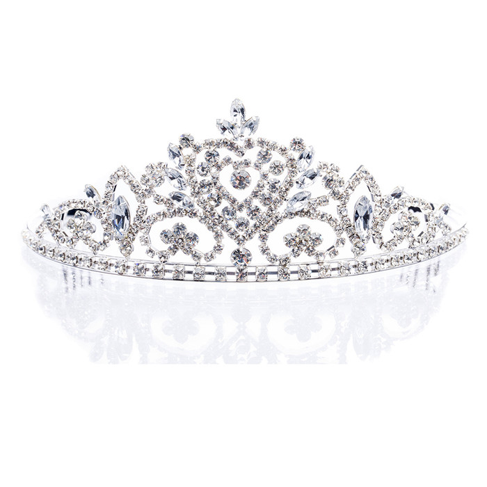 Bridal Wedding Jewelry Crystal Rhinestone Dazzle Vintage Hair Headband Tiara