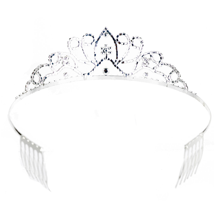 Bridal Wedding Prom Jewelry Crystal Rhinestone Dazzle Headband Tiara HA219 SV