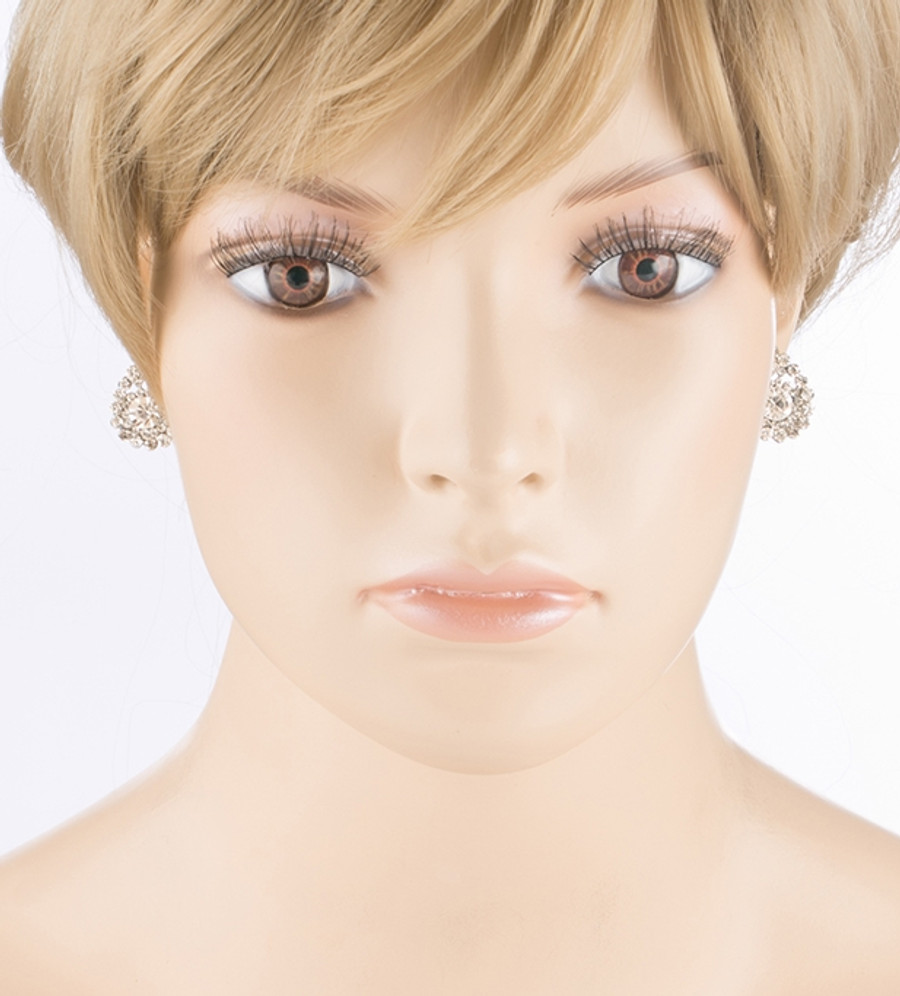 Bridal Wedding Prom Jewelry Simple Teardrop Charm Fashion Earrings E435
