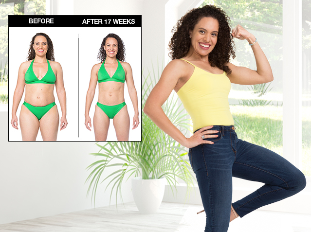 Natasha Lost 30 lbs. in 17 weeks.