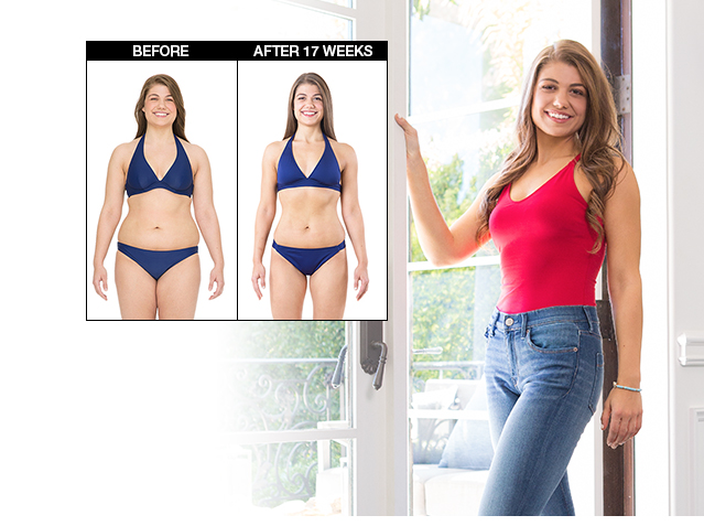Tiffany Lost 31 lbs. in 17 weeks.