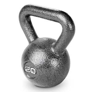 20 lbs. Hammertone Kettle Bell to optimize your HIIT conditioning workout!