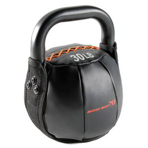 The 30 lbs. Bionic Body Kettle Bell is soft so you do not have to worry about getting hurt, it will optimize your HIIT conditioning workout!