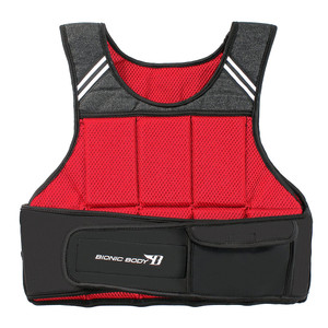 Bionic Body 10 lb. Weighted Vest brings added weight to your run or workout - use it to condition and tone your body - front